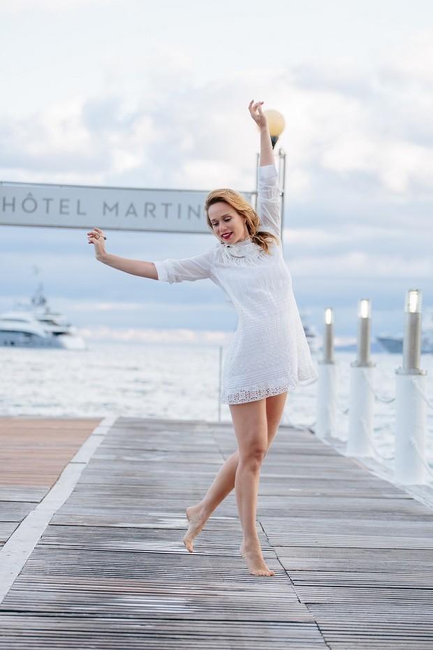 Mariana Ximenes veste Dior (Foto: Daniela Petrel)