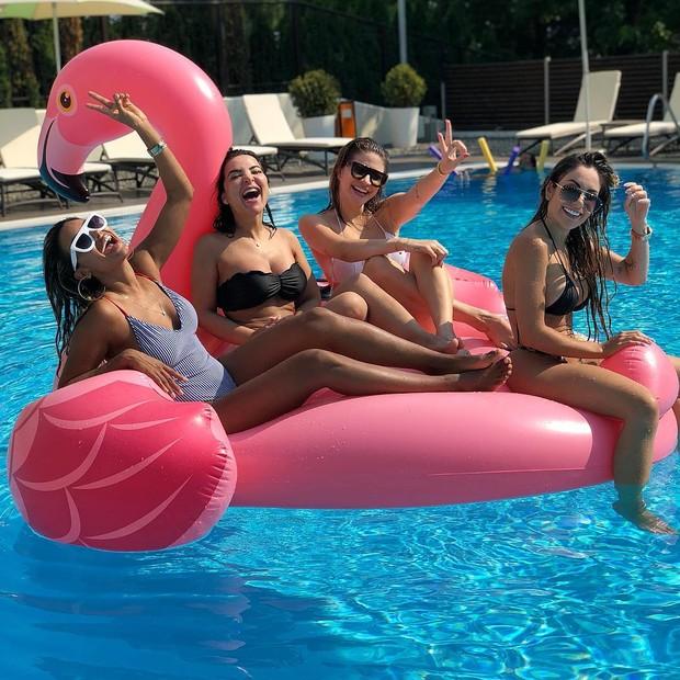 Monique Salum, Gabriela Matias, Glau Rosa e Larissa Firmino (Foto: Reprodução/Instagram)