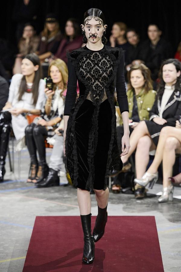 Givenchy - inverno 2015 (Foto: Imaxtree)