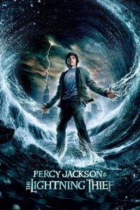"""Poster for the movie """"Percy Jackson och kampen om åskviggen"""""""