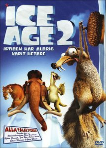 "Poster for the movie ""Ice Age 2: Istiden har aldrig varit hetare"""
