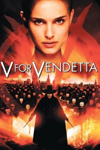 "Poster for the movie ""V för Vendetta"""
