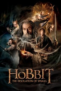 "Poster for the movie ""Hobbit: Smaugs ödemark"""