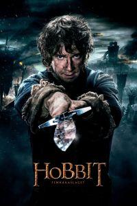 "Poster for the movie ""Hobbit: Femhäraslaget"""