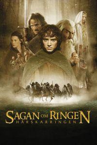 """Poster for the movie """"Sagan om ringen: Härskarringen"""""""