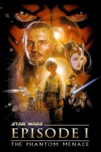 "Poster for the movie ""Star Wars: Episod I - Det mörka hotet"""