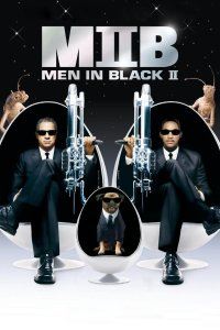 "Poster for the movie ""Men in Black II"""