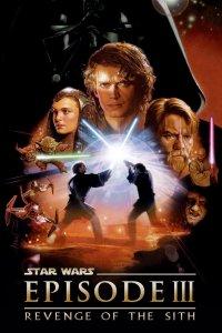 """Poster for the movie """"Star Wars: Episod III - Mörkrets hämnd"""""""