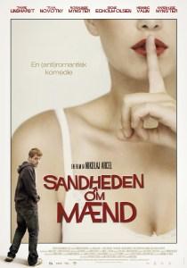 """Poster for the movie """"Sandheden om mænd"""""""