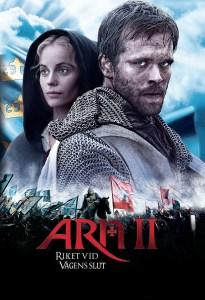 """Poster for the movie """"Arn II - Riket vid vägens slut"""""""
