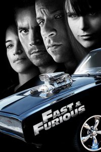 """Poster for the movie """"Fast & Furious"""""""