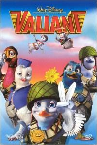 """Poster for the movie """"Valiant Och De Fjäderlätta Hjältarna"""""""