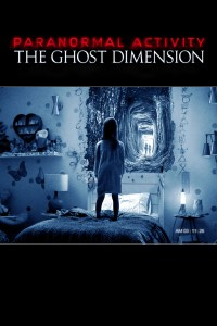 "Poster for the movie ""Paranormal Activity: The Ghost Dimension"""