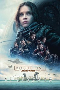 "Poster for the movie ""Rogue One: A Star Wars Story"""