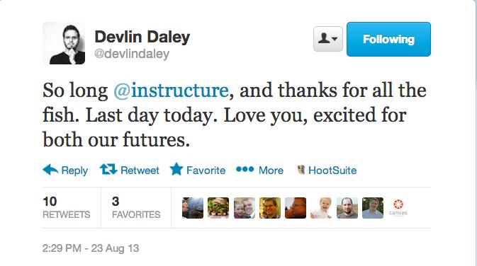 Devlin tweet