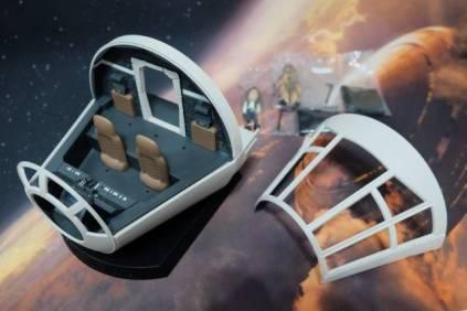 Banpresto Millennium Falcon Cockpit 1