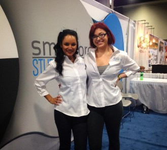 Rachelle & Kelsey bright smiles for bright futures in manufacturing