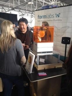 Everyone loves a 3D printer