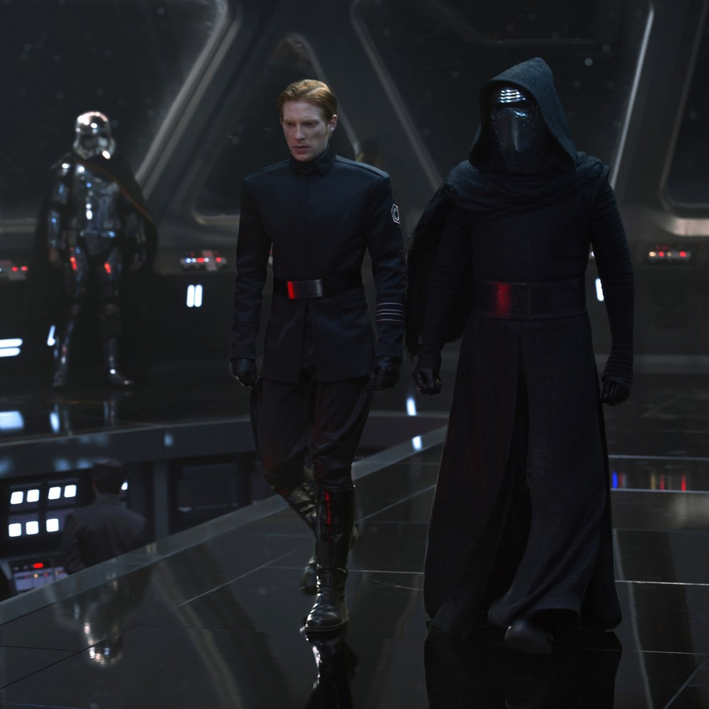 Image result for kylo ren and hux the force awakens