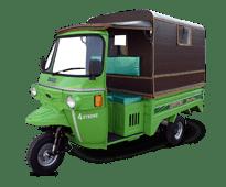Tricycle Loader Rickshaw