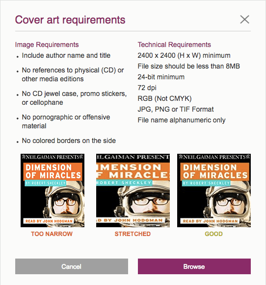 400 cover art requirements