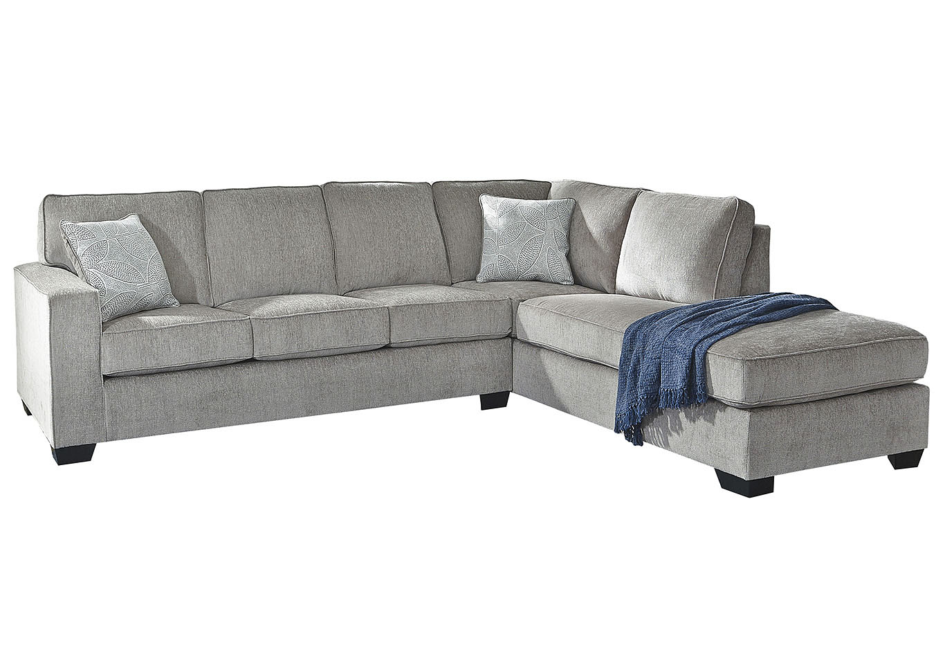 altari alloy right arm facing chaise end sectional best buy furniture and mattress