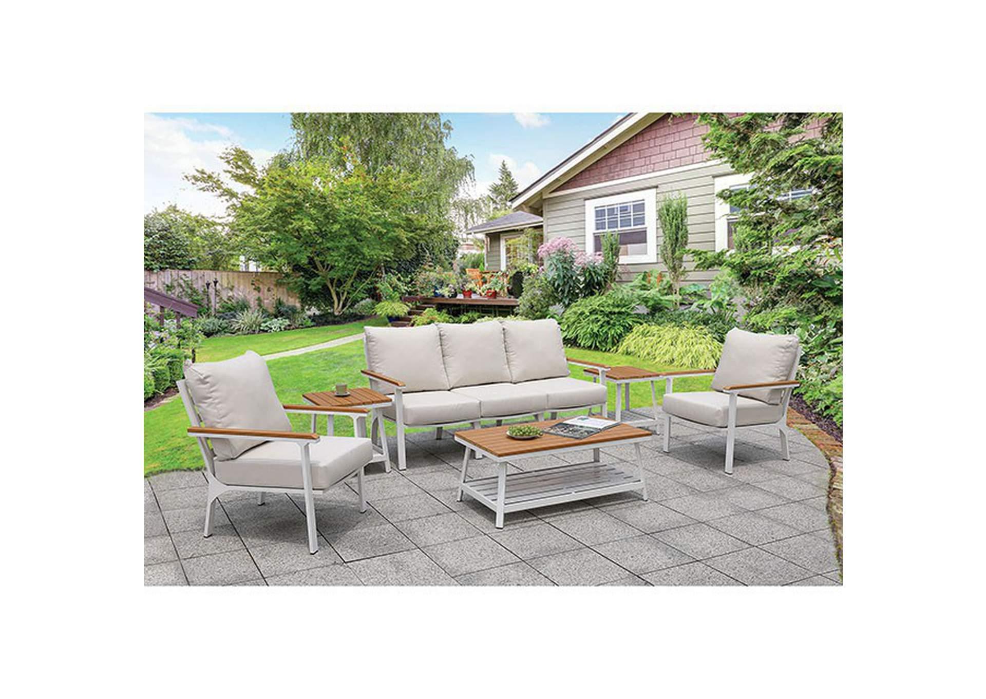 anishan white 6 piece patio set best