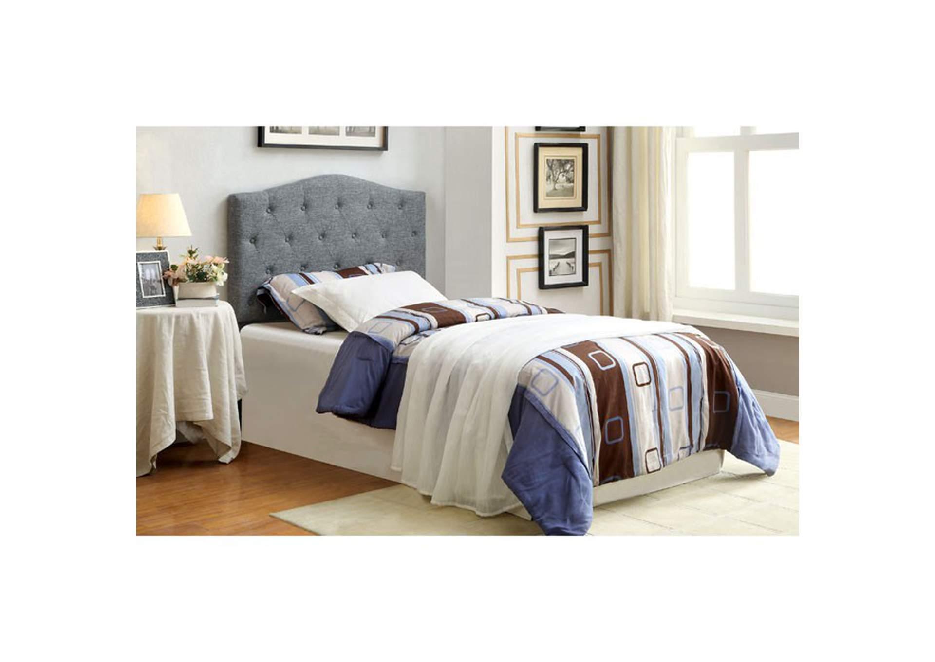 Alipaz Grey Twin Headboard Best Buy Furniture And Mattress