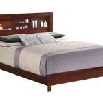 Cherry Queen Bed W Bookcase Headboard Furniture Direct Bronx Manhattan New York City Ny