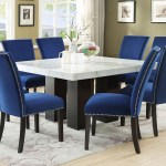 Camila Brown Marble Top Dining Table 5th Avenue Furniture Mi