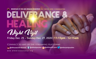 Deliverance and Healing Night Vigil