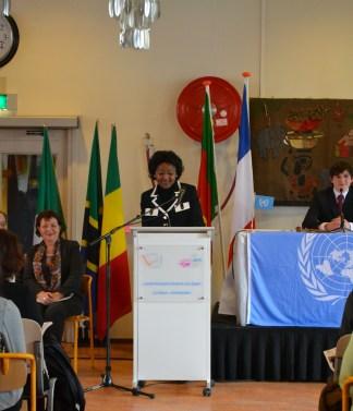 Mme. Odette Melono, Ambassadeur du Cameroun aux Pays-Bas