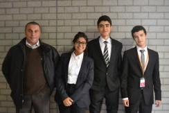 Les élèves de Casablanca et leur professeur