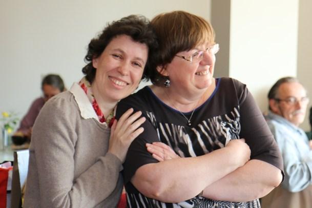 Les deux présidentes (MFPP et Origami Alsace)