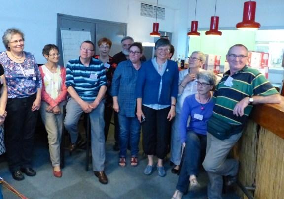 Quelques membres du groupe organisateur de La Rochelle