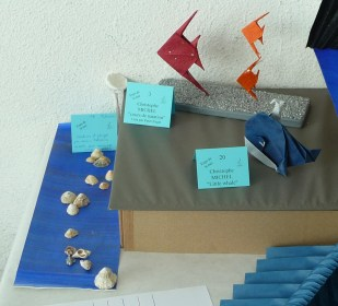 Plus vrais que nature de Patricia Gueyrard et Cours de natation et Little Whale (H Kobayachi) de Christophe Michel