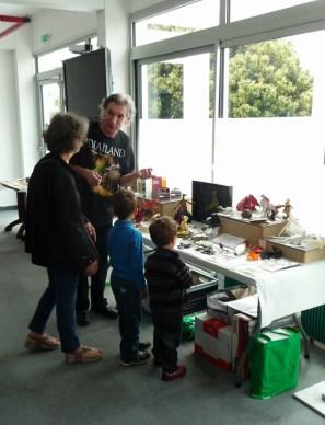 Visite publique de l'exposition