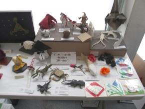 Exposition Club Origami de Kiev
