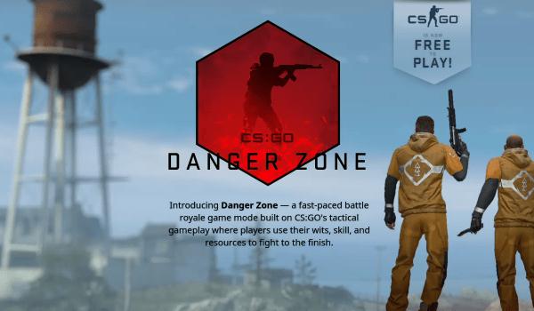 CS:GO Danger zone Free Battle Royale Games for PC