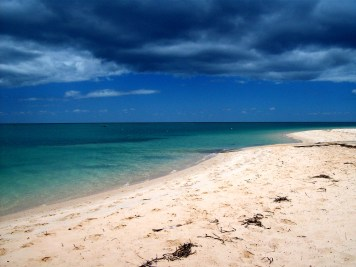 beach in geraldton , australia