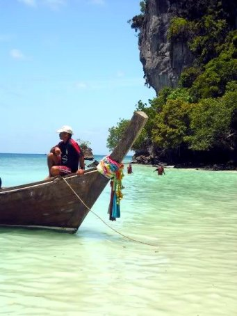 koh phi phi boat ride