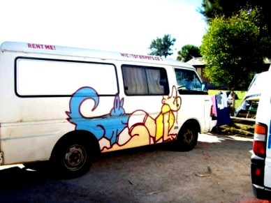 Wicked Camper, Monkey Mia - Australia