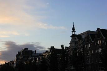 outside hotel in amsterdam