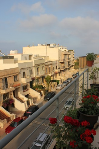 My sisters balcony in malta