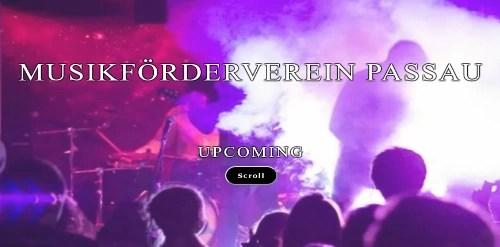 MFV Startseite Screenshot