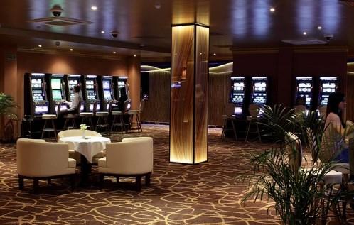 интерьеру казино