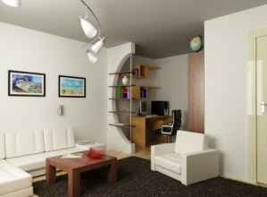 организовать пространство однокомнатной квартиры
