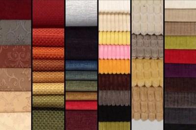 Лучшие ткани для мебели установленной в гостиной