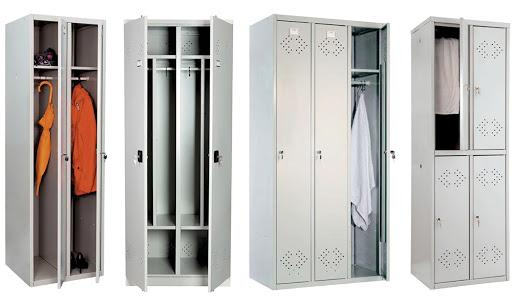 Шкаф металлический для раздевалки Практик