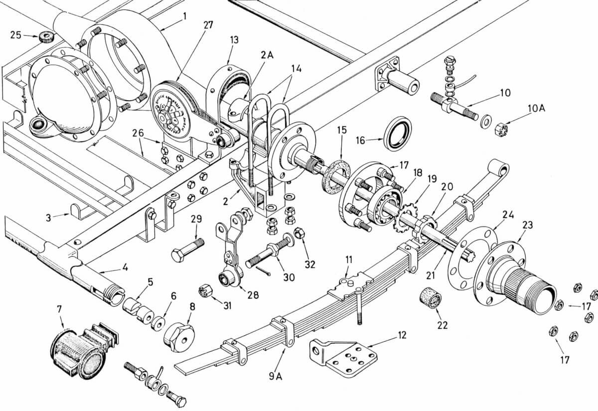 Mmm Rear Chassis Suspension Amp Axle P4